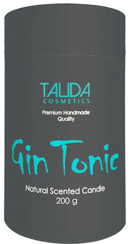 "Aromakerze ""Cocktail"" Gin Tonic, 75x125 mm, 200 g"
