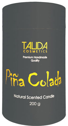 "Aromakerze ""Cocktail"" Piña Colada, 75x125 mm, 200 g"