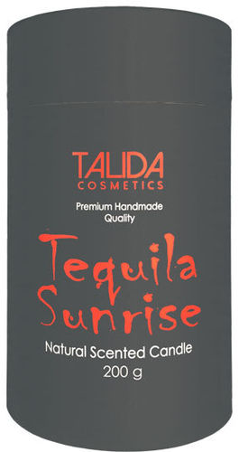 "Aromakerze ""Cocktail"" Tequila Sunrise 75x125 mm, 200 g"